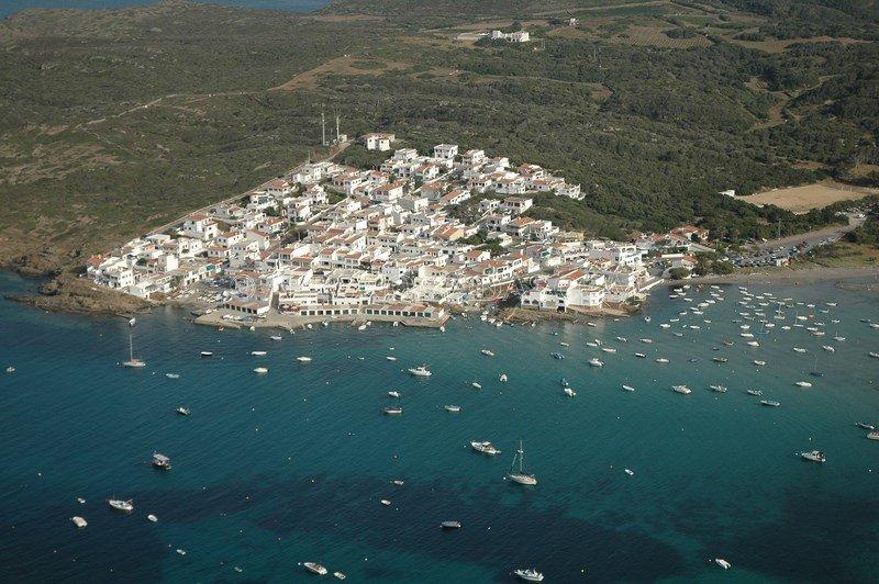 Pueblo en Menorca