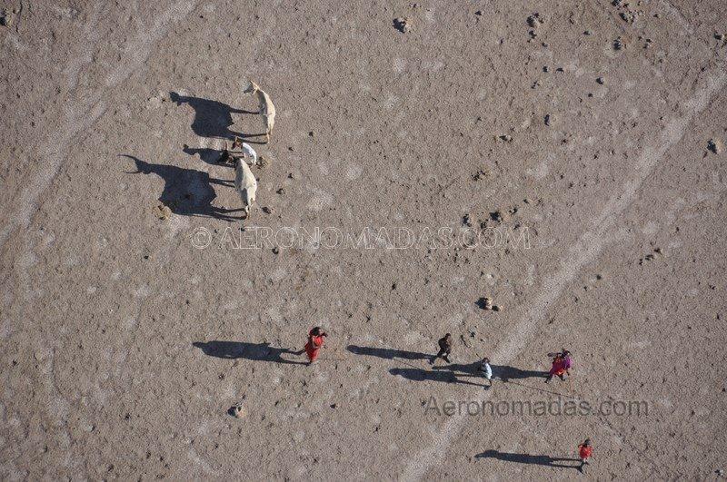 Pastores Masai Kenia