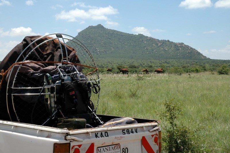 transporte paramotor