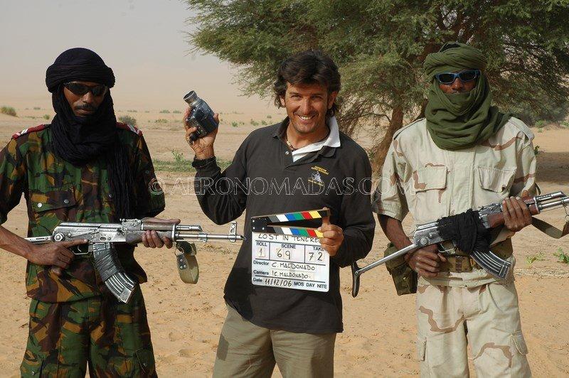 Filmacion Desierto