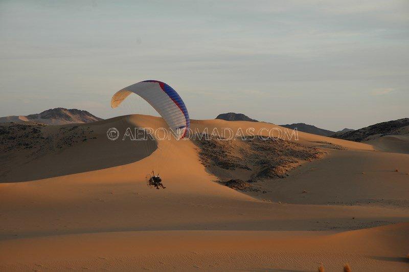 Filmacion en Tenere Sahara