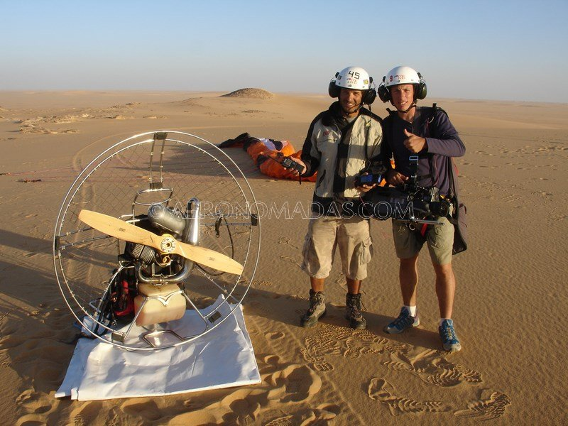 z-Filmacion en Tenere Desert