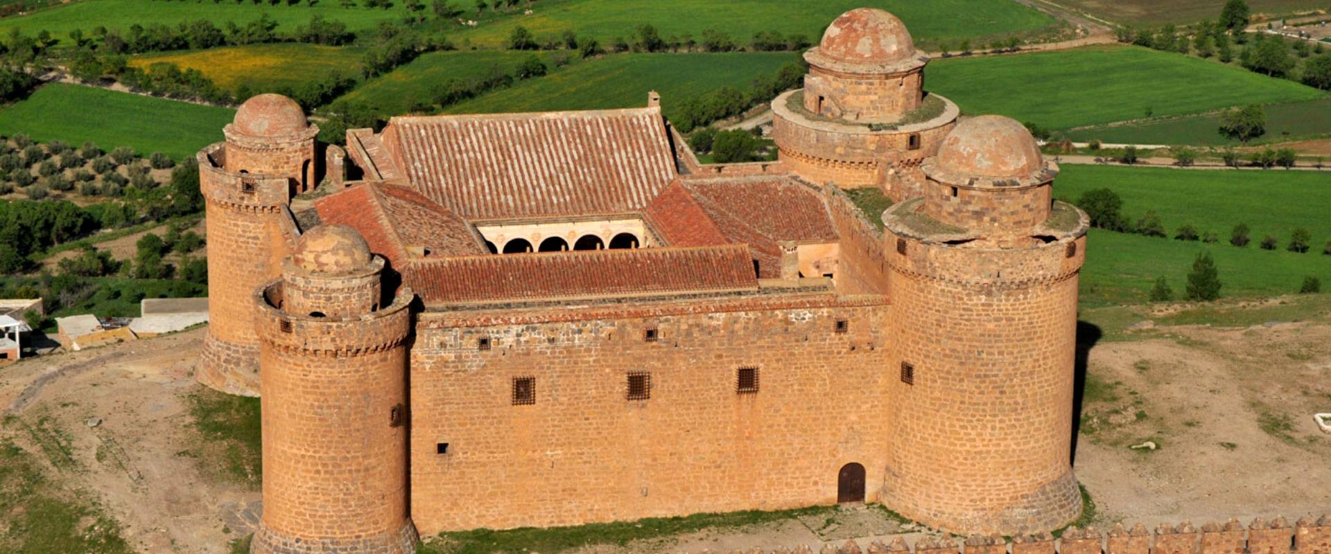 foto aerea del Castillo d ela Calahorra